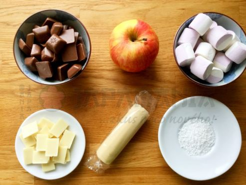 Ingredience na honmei choco