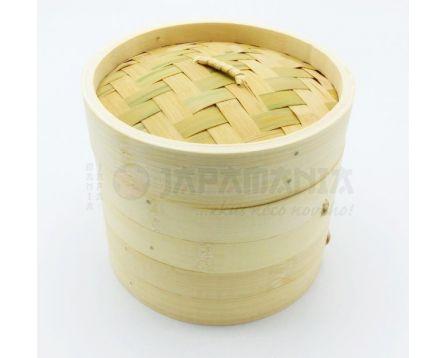 Bambusový napařovač 15cm