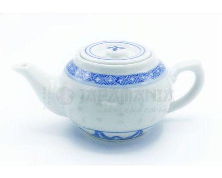 Čajová konvička - rýžový porcelán