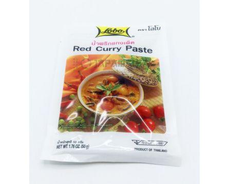 Lobo Thajská Kari pasta červená 50g