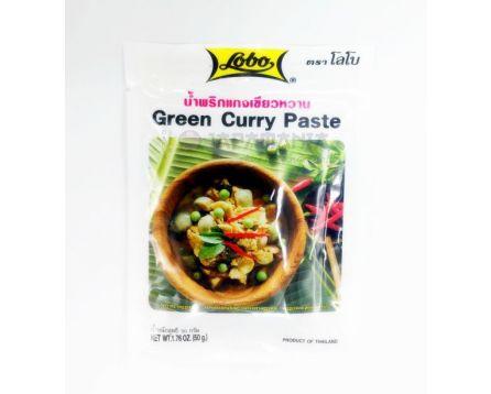 Lobo Thajská Kari pasta zelená 50g