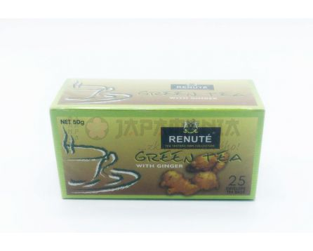 Zelený čaj se zázvorovým aroma 50g