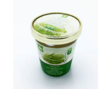 Zmrzlina s příchutí zeleného čaje 500ml