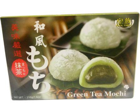 Royal Family Mochi rýžové koláčky (zelený čaj) 210g