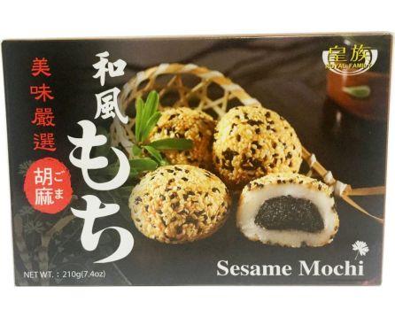 Royal Family Mochi rýžové koláčky (sezam) 210g