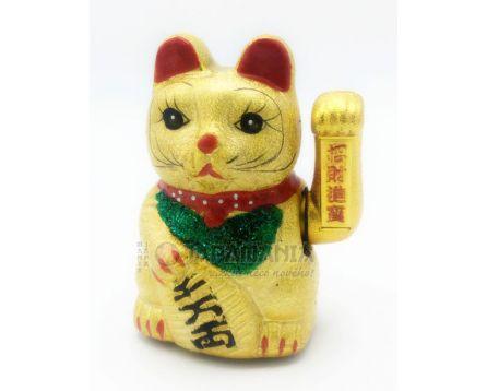 Mávající kočička - Maneki neko 17,5cm