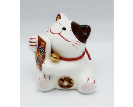 Plutus kočička pro štěstí - keramická 11 cm