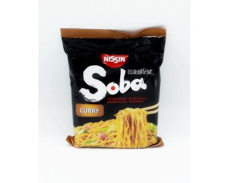 Nissin instatní Nudle Soba curry 108g