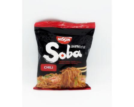 Nissin instatní Nudle Soba chilli 111g