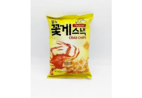 Chipsy s krabí příchuťí 50g