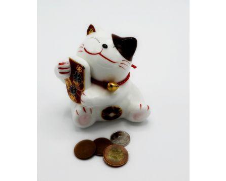 Plutus kočička pro štěstí pokladnička - keramická 11 cm