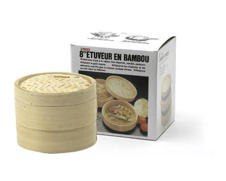 Bambusový napařovač 20cm