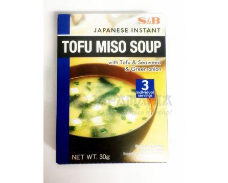 S&B Instatní Miso polévka Tofu 30g