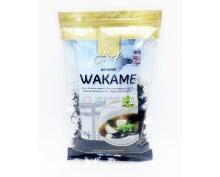 Golden Turtle Wakame řasy 100g