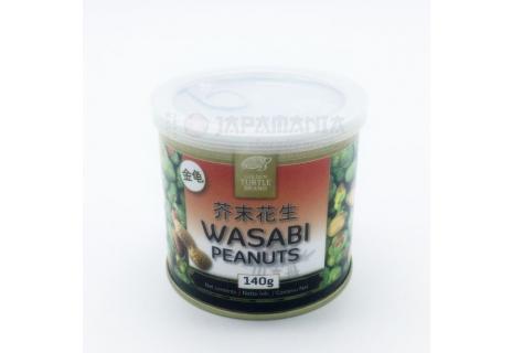 Golden Turtle Wasabi oříšky 140g
