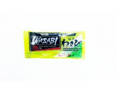 S&B Wasabi pasta 5g